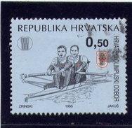 CROATIA 1995   USED # RA55a   National Olympic Commitee: Rowing  USED - Croatie