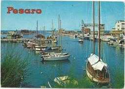 V1037 Pesaro - Panorama Del Porto - Barche Boats Bateaux Yacht / Non Viaggiata - Pesaro