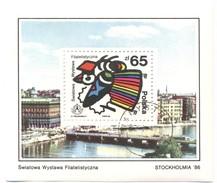 POLONIA - POLSKA - Poland - 1986 - STOCKHOLMIA ´86 - Block Used - Blocks & Sheetlets & Panes