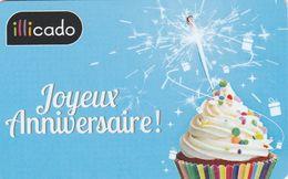 ## Carte  Cadeau    ILLICADO ##  (France)   Gift Card, Giftcart, Carta Regalo, Cadeaukaart - Cartes Cadeaux