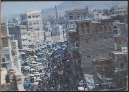 °°° 4107 - YEMEN - SANA'A - OPPOSITE OF CENTRAL BANK OF YEMEN - With Stamps °°° - Yemen