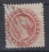 Newfoundland 1865 Sc#28 12c Victoria Fine Used - Newfoundland