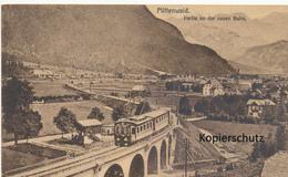 AK Mittenwald, Partie An Der Neuen Bahn - Mittenwald
