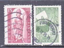 FINLAND  327-8   (o)   RELIGION - Finland