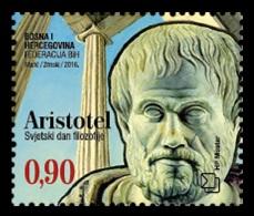 Bosnia And Herzegovina (Croatian) 2016 Mih. 445 Aristotle MNH ** - Bosnien-Herzegowina
