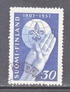 FINLAND  346   (o)   SCOUTING  BOY  SCOUT - Finland