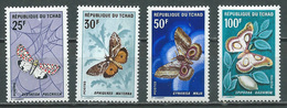 Tchad YT N°157/160 Papillons Neuf/charnière * - Tsjaad (1960-...)