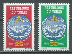 Tchad YT N°123/124 Siège De L'O.M.S. Neuf/charnière * - Tsjaad (1960-...)