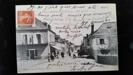 CPA D46 Les Quatre Routes Rue Centrale - Autres Communes