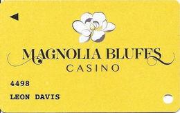 Magnolia Bluffs Casino - Natchez, MS USA - Slot Card - Casino Cards
