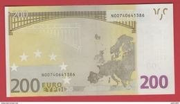 AUSTRIA 200 EURO G001 C2 - N00740641386 - G001C2 - UNC NEUF FDS - EURO