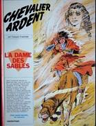 François Craenhals - Chevalier Ardent N° 8 - La Dame Des Sables - Casterman - ( E.O. 1976 ) . - Chevalier Ardent