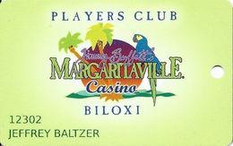 Margaritaville Casino - Biloxi MS - Slot Card - Casino Cards