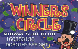 Harrington Raceway Midway Slots - Harrington, DE - Casino Slot Card - Casino Cards