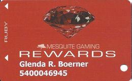 Mesquite Gaming - CasaBlanca & Virgin River Casinos - Mesquite, NV - Slot Card - Casino Cards