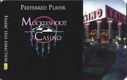 Muckleshoot Casino Auburn WA Slot Card (BLANK) - Casino Cards