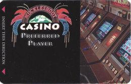 Muckleshoot Casino Auburn WA Slot Card - Small Phone# On Back (BLANK) - Casino Cards