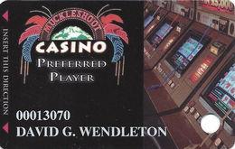 Muckleshoot Casino Auburn WA Slot Card - Small Phone# On Back - Casino Cards