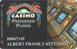 Muckleshoot Casino Auburn WA Slot Card - Large Phone# On Back - Casino Cards
