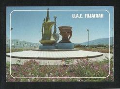 United Arab Emirates UAE Fujairah Picture Postcard Fujairah Monument  View Card - Emirati Arabi Uniti