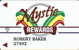 Mystic Lodge Casino - Henderson, NV USA - Slot Card - Insert Arrows - ONE Diamonds - Casino Cards