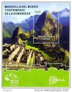Peru Machu Picchu 100 Years Años Heritage MS - Peru