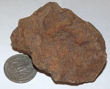 102 Gram Weathered NWA METEORITE From The Sahara Desert (#G1642) - Meteoriti