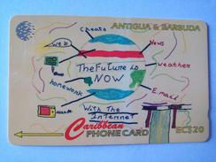 Antigua Phonecard EC$20 177CATC Internet