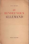 Au Rendez-vous Allemand By Eluard, Paul - Other