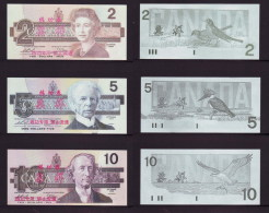 (Replica)BOC (bank Of China) Training/test Banknote,Canada Dollars B-3 Series 6 Different Note Specimen Overprint - Canada