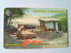 Antigua Phonecard EC$10 97CATC Charcoal Burning