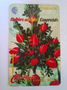 Dominica Phonecard 138CDMB 1996 Flower Show