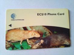 Dominica Phonecard 248CDMA EC$10