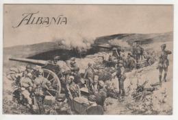 ° ALBANIE ° ALBANIA ° WW1 ° CANON ° GUERRE 1914-1918 ° - Albania
