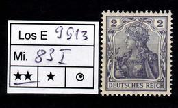 Los B9913: DR Mi. 83 I ** - Deutschland