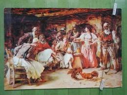 Kov 1229 - PAJA JOVANOVIC, BORBA PETLOVA, COMBAT DE COYS - Paintings