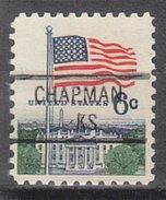 USA Precancel Vorausentwertung Preos Locals Kansas, Chapman 841
