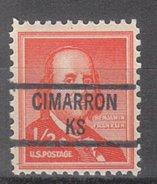 USA Precancel Vorausentwertung Preos Locals Kansas, Cimarron 841