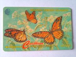 BVI Phonecard 67CBVB US$10 Butterflies
