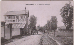 Yvelines :  MAURECOURT : Le  Boulevard  Betbeder (  Ste Richard , L 'omnium Acetylene) - Maurecourt
