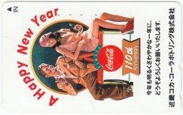 JAPAN F-934 Magnetic NTT [110-011] - Historic Advertising, Coca Cola - Used
