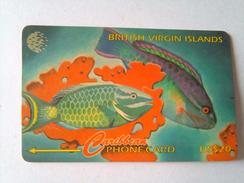 BVI Phonecard 25CBVB US$20 Fish