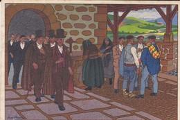 ESPAGNE --- POSTALES VASCAS--N° 2---dibujos De José Arrue---voir 2 Scans - Espagne
