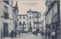 AK - Italien  - Kalabrien  - PAOLA - Piazza Del Popolo 1910 - Cosenza