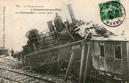 (24)  CPA Cousances Aux Bois  Pres Lerouville Le Tamponnement 1908  (bon Etat) - France