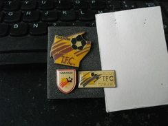 Lot De 3 Pins Pin's Football TFC Toulouse - Calcio