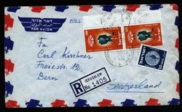 A4644) Israel R-Brief Von Jerusalem 10.1.54 Nach Bern - Israel