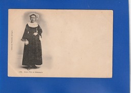 Jeune Fille De Chateaulin  ( MICRO COUPURE 1mm BORD SUP SINON TTB ETAT)  Ww1784 - Châteaulin