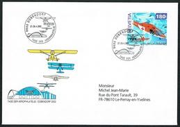 LETTRE OBLITERE Le 27/28.4.2002. C/DES TIMBRES SUISSES Nr:1040. - Suisse