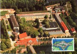 "BRD Maximumkarte ""400 Jahre Zitadelle Spandau"" Mi 1739 ESSt 16.6.1994 BERLIN 12 - BRD"